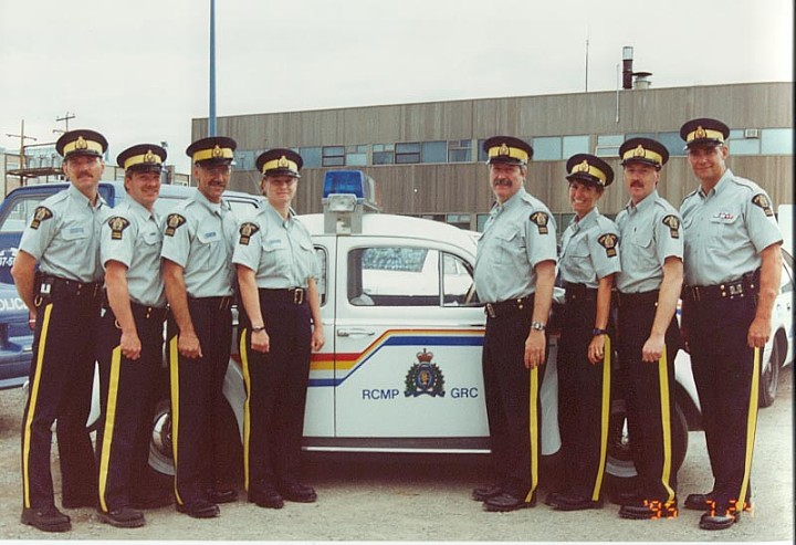 RCMP M Division Auxiliary Constables, 1995