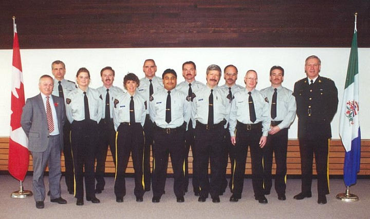 RCMP M Division Auxiliary Constables, 1994