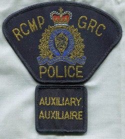 RCMP Auxiliary Constable patches, 1995