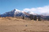 Photo #6 - dirt bikes on the dunes at the world's smallest desert, Carcross, Yukon