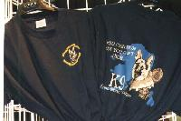 K-9 Unit T-shirts are available the Alaska State Troopers 