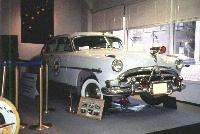 1952 Hudson Hornet patrol car in the Alaska State Troopers Museum, Anchorage, Alaska