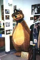 'Safety Bear' in the Alaska State Troopers Museum, Anchorage, Alaska