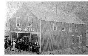 Bennett Bc Yukon Hotel 1899