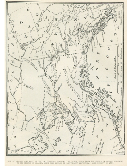 Map of the Yukon River, 1883