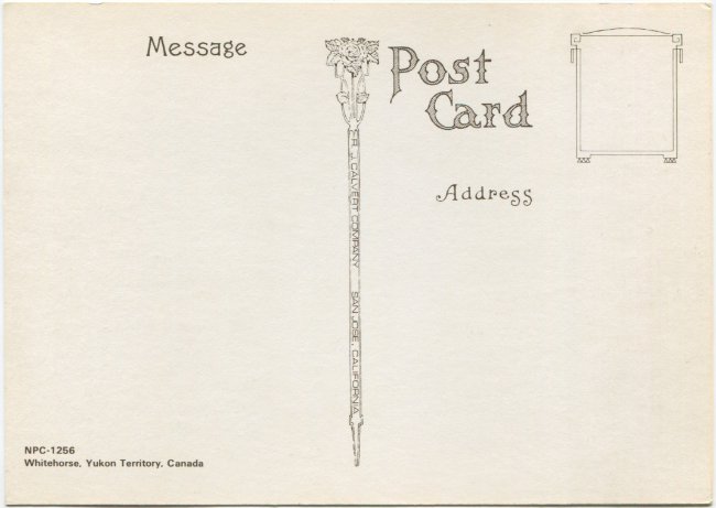 Postcards by the R. J. Calvert Company - NPC-1256: Whitehorse, Yukon Territory, Canada
