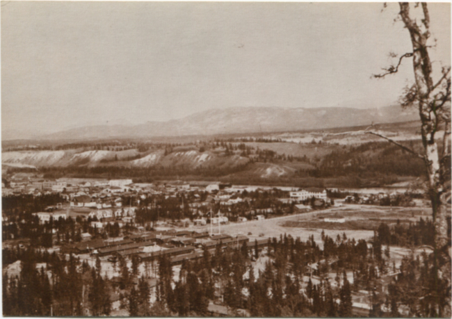 Postcards by the R. J. Calvert Company - NPC-1258: Whitehorse, Yukon Territory, Canada
