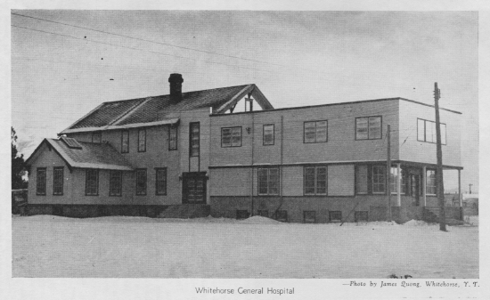 Whitehorse hospital, 1947