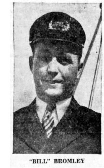 Bill Bromley, pilot on the steamer Klondike, 1937