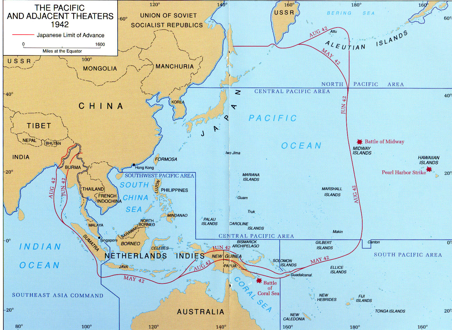 The aleutian islands war june 3 1942 august 24 1943 explorenorth the pacific and adjacent theaters 1942 map gumiabroncs Images