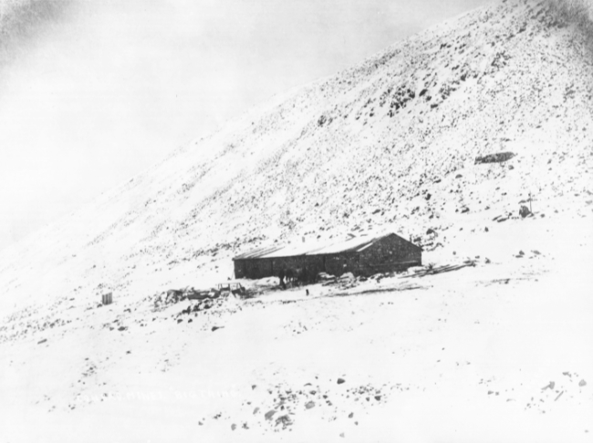 Conrad Mines, Big Thing, 1906 - today, commonly called the first stone house