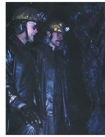Miners Joe Weinholzner and Yves Maciagowski, 1978