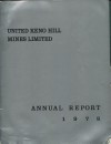 United Keno Hill Mines Ltd., 1978 Annual Report