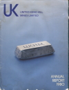 United Keno Hill Mines Ltd., 1980 Annual Report