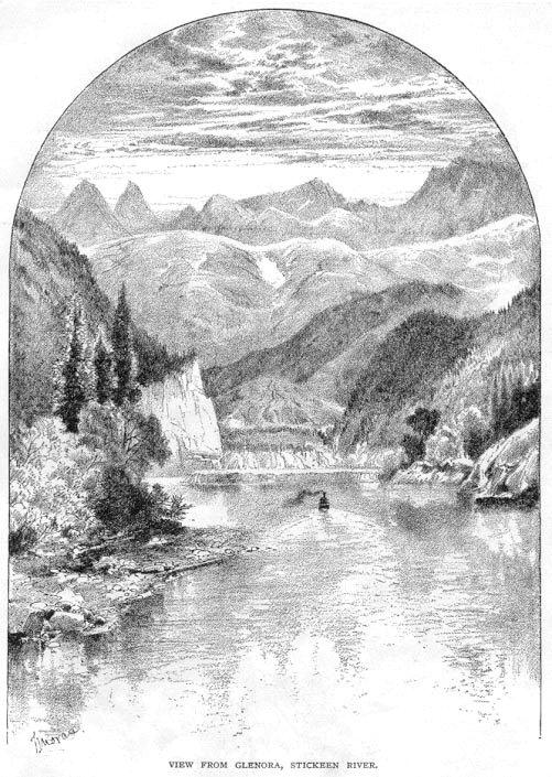 View From Glenora, Stickeen River - 1879