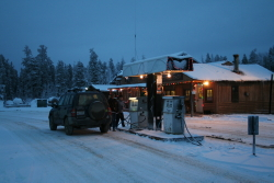 Contact Creek Lodge, Alaska Highway