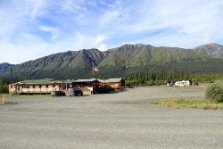 Destruction Bay Lodge, Alaska Highway