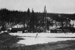 Dry Creek Lodge, Alaska Highway Historic Mile 1184, 1950