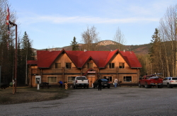 Liard Hotsprings Lodge, Alaska Highway