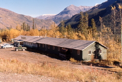The Village lodge, Alaska Highway