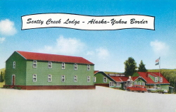 Scotty Creek Lodge, Alaska Highway