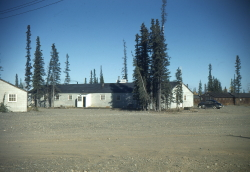 Tok Lodge, Alaska Highway, 1948