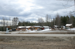 Upper Liard Lodge, Alaska Highway