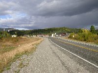 The community of Swift River, Yukon - Historic Mile 733, October 2002