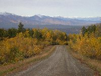 Trutch Mountain section of the old Alaska Highway, October 2002