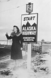 Edmonton Highway 2 - the start of the Alaska Highway