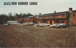 Alas/Kon Border Lodge, Alaska Highway