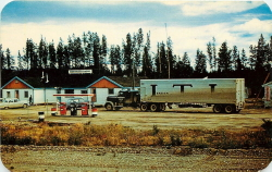 Iron Creek Lodge, Alaska Highway