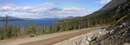 A photo from the Atlin Road to Atlin, BC