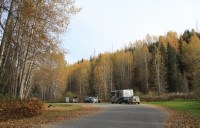 Bell-Irving River rest area, Stewart-Cassiar Highway, BC