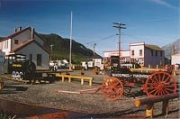 Downtown Carcross, Yukon