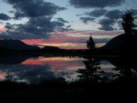 Sunset at Lake Bennett, Yukon - 10:45 p.m. on July 30
