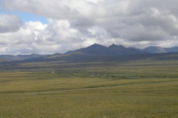 The subarctic country through which the Dempster Highway passes.