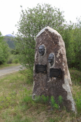 Joseph and Annie Henry Monument, Dempster Highway