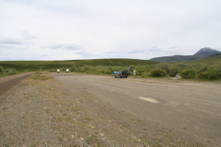 Blackstone River rest area, Dempster Highway