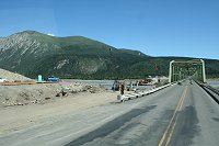 Donjek River Bridge, Alaska Highway