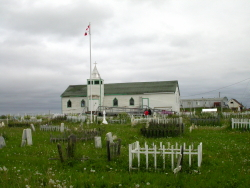 Cemetery at Fort McPherson, NWT border=