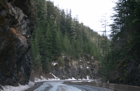 Bear River Canyon on the Glacier Highway