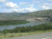 Yukon River at Tatchun Creek - North Klondike Highway, Yukon