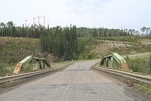 Crooked Creek Bridge on the North Klondike Highway, Yukon