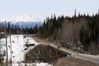 Nass River Bridge, Stewart-Cassiar Highway, BC