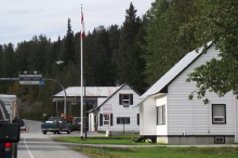 Canada Customs, Pleasant Camp, Haines Highway