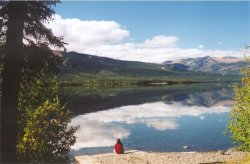 Quiet Lake - South Canol Road