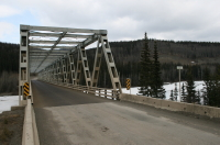The Stikine River Bridge, Stewart-Cassiar Highway, BC