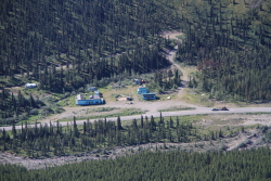 Summit Lake Lodge, Alaska Highway