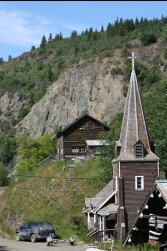 St. Aidan's Church, Telegraph Creek, BC